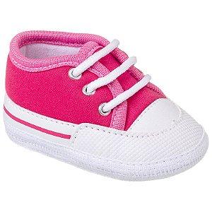 Tênis Basic Bebê Rosa Pink