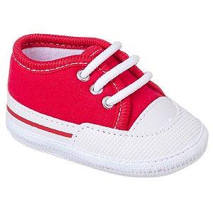 Tênis Basic Bebê Vermelho