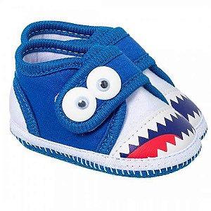Tênis Bebê Monstrinho Azul