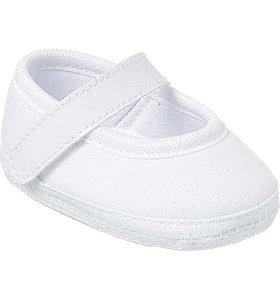 Sapatilha Bebê Basic Branca