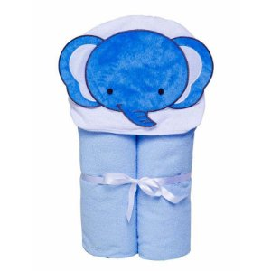 Toalha Felpuda Toys Forrada Bichinhos Elefante
