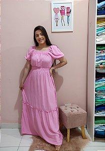 Vestido Longo Laura Rosa
