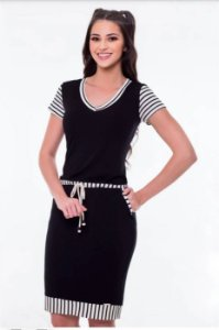 Vestido Hapuk Black