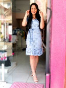 Vestido Alice Azul