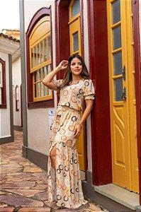Vestido Longo Isadora Bk
