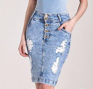 Saia Tradicional Jeans