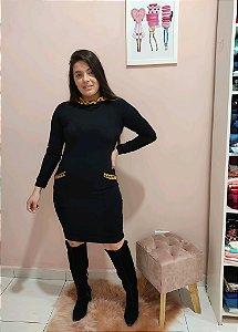 Vestido Lavínia Preto