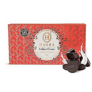BARRA HAOMA CHOCOLATE COOKIES E CREAM HAOMA 1KG
