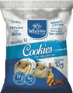 BISCOITO FIT COOKIES WHEY PROTEIN WHEYVIV FIT 45G