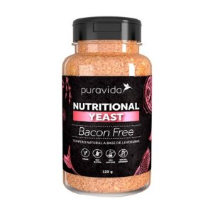 NUTRITIONAL YEAST BACON FREE PURA VIDA 120G