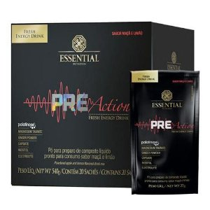 PRE ACTION ESSENTIAL NUTRITION MACA E LIMAO 27G