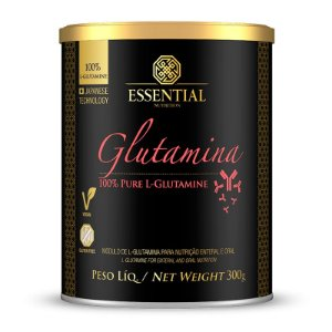 GLUTAMINA ESSENTIAL NUTRITION LATA 300G