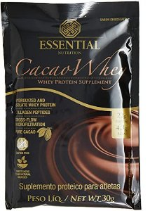 CACAU ESSENTIAL NUTRITION WHEY SABOR CHOCOLATE 30G