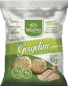 BISCOITO FIT DE GERGELIM WHEYVIV FIT 45G