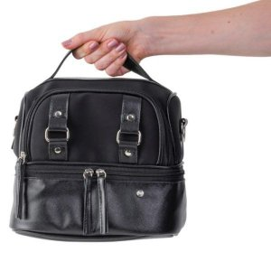 BOLSA VERMONT MINI ALL BLACK PACCO