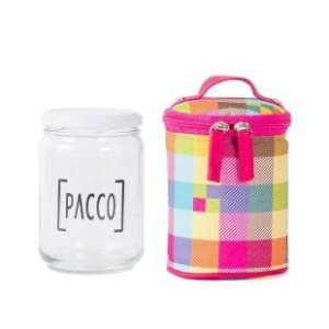 FOOD BOX PACCO XADREZ PINK