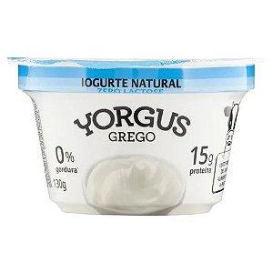 IOGURTE NATURAL ZERO LACTOSE YORGUS GREGO 500G