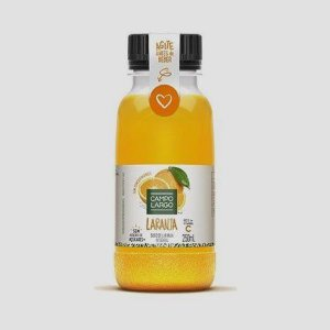 SUCO LARANJA INTEGRAL CAMPO LARGO 250ML