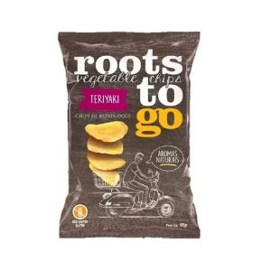 CHIPS BATATA DOCE TERIYAKI ROOTS TO GO 45G
