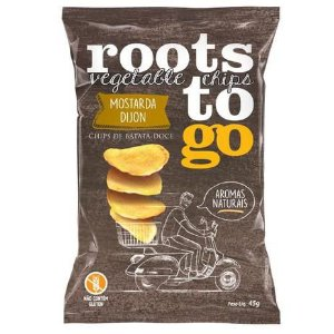 CHIPS BATATA DOCE MOSTARDA DIJON ROOTS TO GO 45G