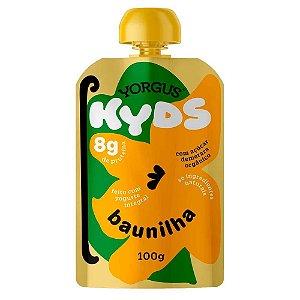 IOGURTE DE BAUNILHA YORGUS KIDS 100G