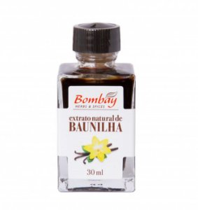 EXTRATO NATURAL DE BAUNILHA BOMBAY 30 ML