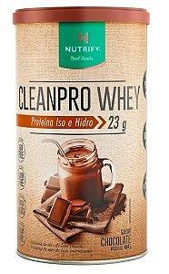 CLEANPRO WHEY CACAU NUTRIFY FOODS 450G