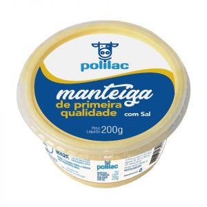 MANTEIGA DE FAZENDA C SAL POLILAC 200G