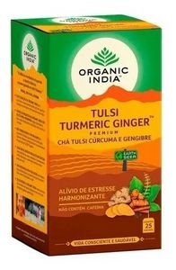 CHA TULSI TURMERIC GINGER ORGANIC INDIA 47,5G