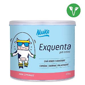 EXQUENTA MUKE (PRÉ-TREINO) - PINK LEMONADE 300G MUKE SUPLEMENTOS