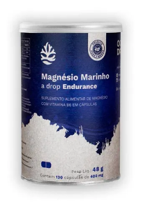 Magnésio Marinho 120 Cápsulas - Ocean Drop