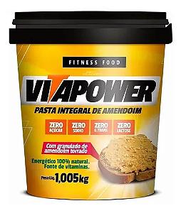 Pasta De Amendoim Crocante 1kg Vitapower