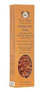 Macarrão Tipo Fusilli De Farinha De Lentilha Vermelha 200g - Ceres Brasil
