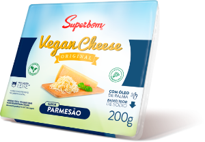 Vegan Cheese Parmesão Superbom 200g