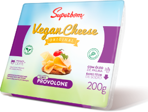 Vegan Cheese Provolone Superbom 200g