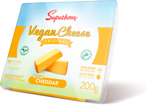 Vegan Chesse Cheddar Superbom 200g