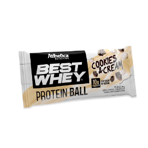 Protein ball cookies e cream Atlhetica 50g