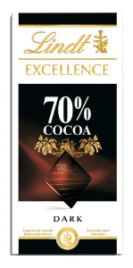 Chocolate 70%  EXCELLENCE LINDT  100g