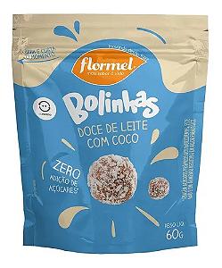 Bolinhas de doce de leite com coco FLORMEL 60g