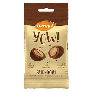 Yow amendoim com chocolate ao leite FLORMEL 40g
