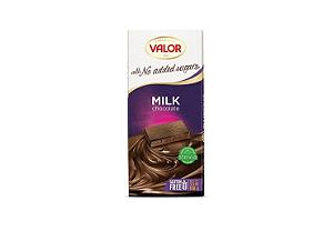 Chocolate ao leite sem açúcar VALOR 100g