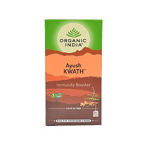 Chá Tulsi Immunity Booster  Organic India 45g