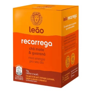 Chá Recarrega mate + guaraná Chá Leão 20g