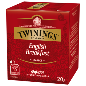 Chá English Breakfast Classic Twinings 20g