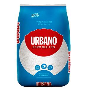 Farinha de arroz sem gluten Urbano 1kg