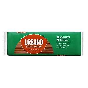 Espaguete de arroz integral zero gluten Urbano 500g