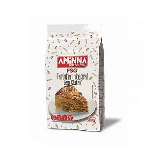 Farinha integral sem gluten Aminna 500g