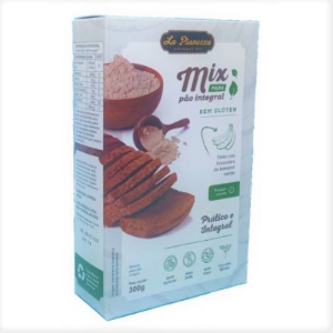 Mix para pao integral sem gluten La Pianezza 300g