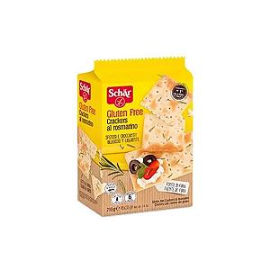 Cracker al rosmarino alecrim sem gluten Schar 210g