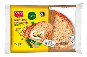 Pão Casereccio Schar 240g sem gluten 240g